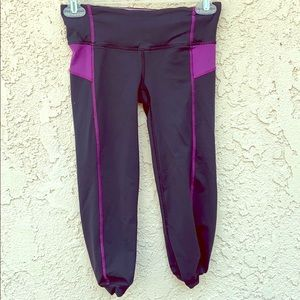 Lululemon black stretch athletic leggings